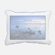 Cute Peace love Rectangular Canvas Pillow