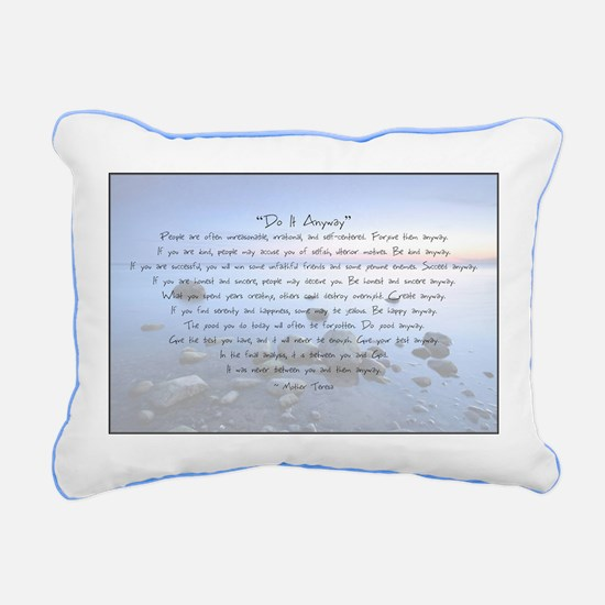 Cute Love Rectangular Canvas Pillow