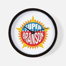 Super Branson Wall Clock