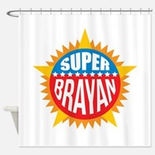 Super Brayan Shower Curtain