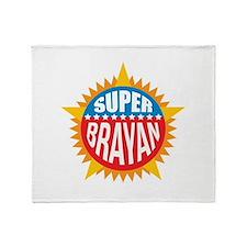 Super Brayan Throw Blanket