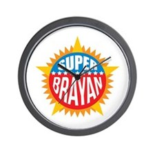 Super Brayan Wall Clock