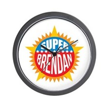 Super Brendan Wall Clock