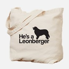 He's a Leonberger Tote Bag