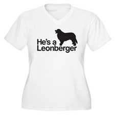 He's a Leonberger Plus Size T-Shirt