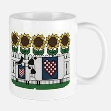 Sheep and Sunflowers Mug