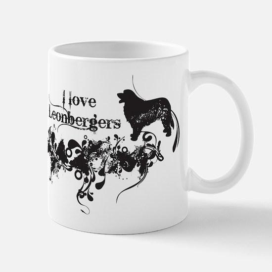 I Love Leonbergers Mug