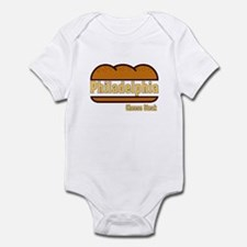 Philadelphia Cheesesteak Infant Bodysuit