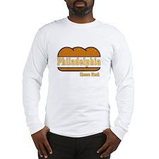 Philadelphia Cheesesteak Long Sleeve T-Shirt
