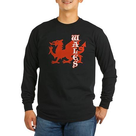 Wales Long Sleeve Dark T-Shirt