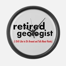 retired geologist 3 best Large Wall Clock