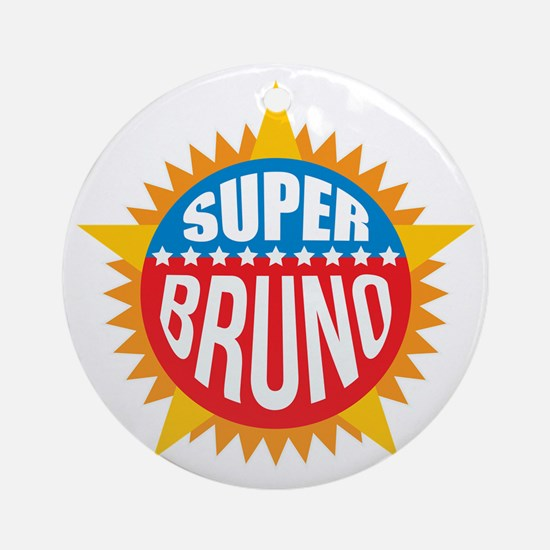 Super Bruno Ornament (Round)