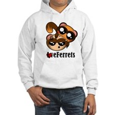 Two ferrets LoveFerrets Hoodie