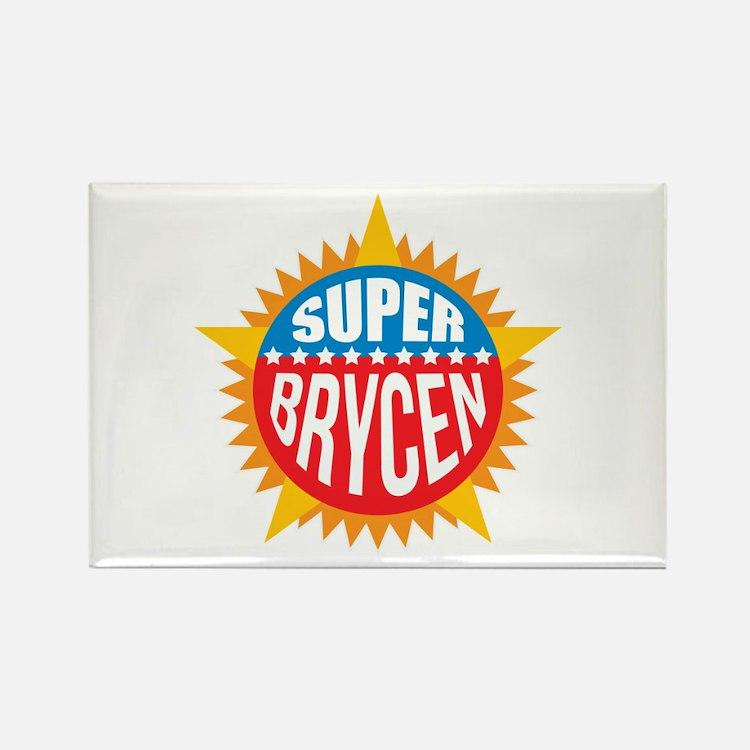 Super Brycen Rectangle Magnet
