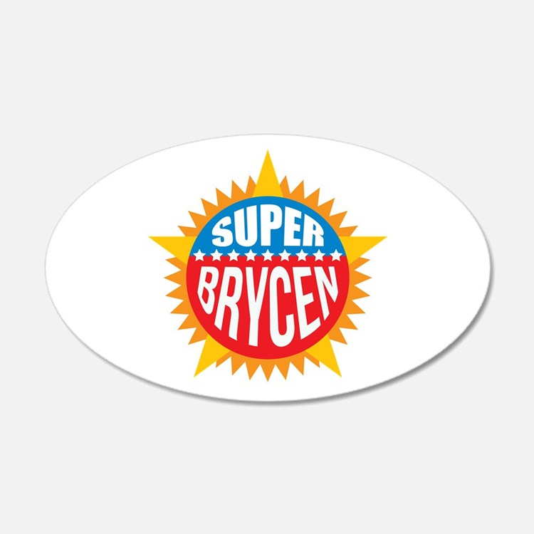 Super Brycen Wall Decal