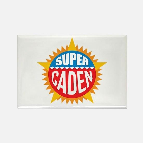 Super Caden Rectangle Magnet