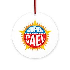 Super Cael Ornament (Round)