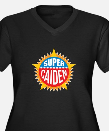 Super Caiden Plus Size T-Shirt