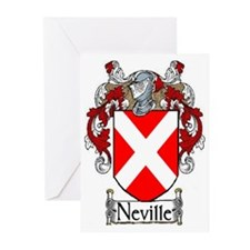 Neville Coat of Arms Greeting Cards (Pk of 10)