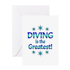 Diving is the Greatest Greeting Card
