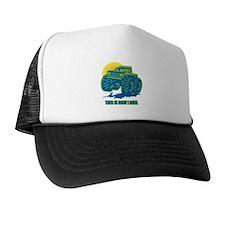 How I Roll Monster Truck Trucker Hat