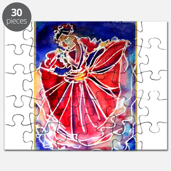 Fiesta! Colorful, Dancer! Puzzle