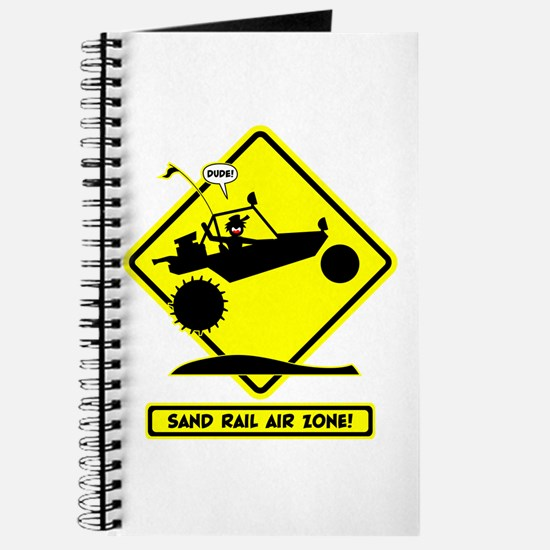 SAND RAIL Jumping Road Signs Journal