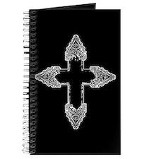 Ornate Gothic Cross Journal