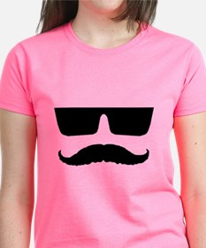 Cool mustache and glasses Tee