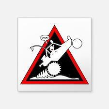 SAND RAIL Wheelie Danger Signs Sticker