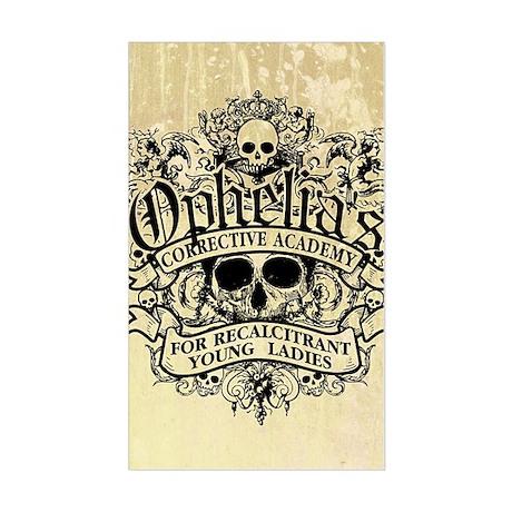 Ophelia's Academy Sticker (Rectangle)
