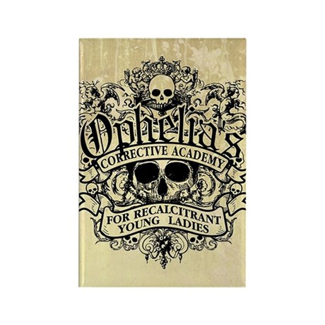 Ophelia's Academy Rectangle Magnet