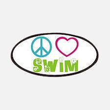 Peace Love Swim Patches