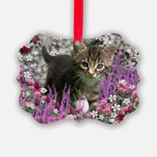 Emma in Flowers I Ornament