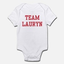 TEAM LAURYN  Infant Creeper