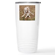 Saluki Lattice Travel Mug