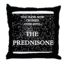 The Prednisone Throw Pillow