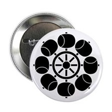 """Eight ladles water wheel 2.25"""" Button (10 pack)"""