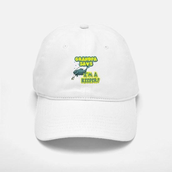 Grandpa says... Baseball Baseball Cap