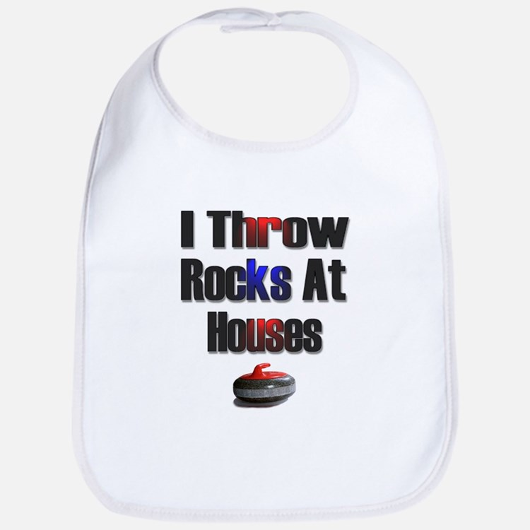 I Throw Rocks at Houses Bib