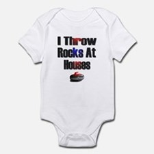 I Throw Rocks at Houses Infant Bodysuit
