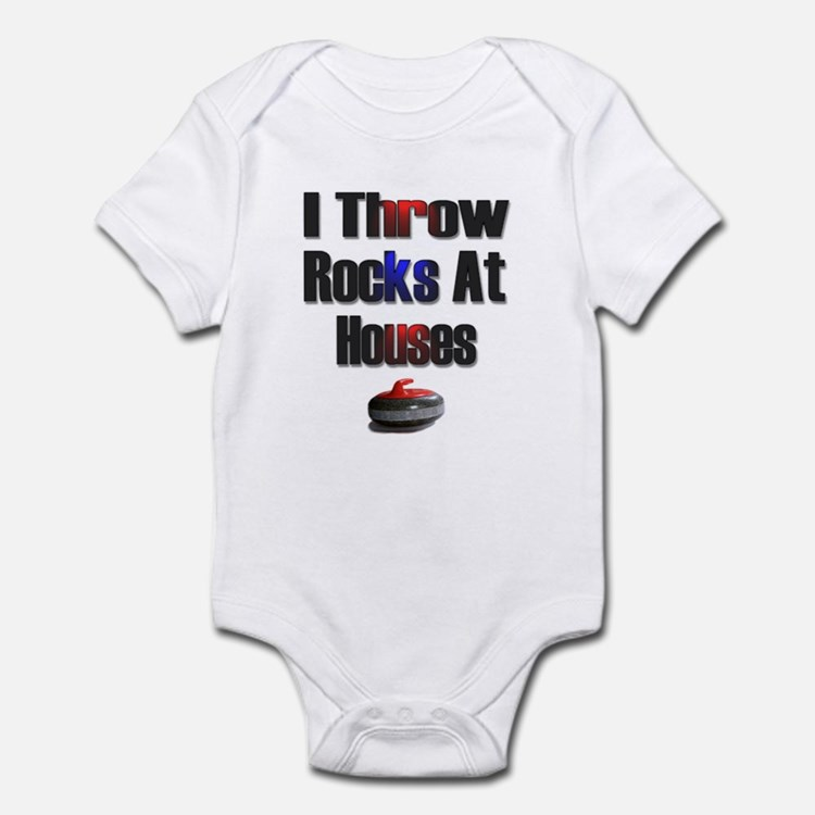 I Throw Rocks at Houses Infant Bodysuit