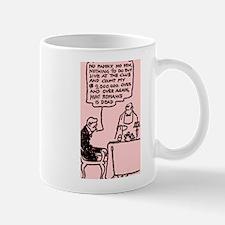 Romance Is Dead Cartoon Mug