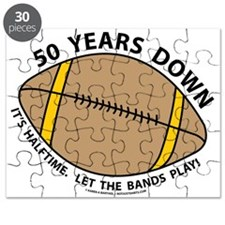 50th Birthday Football Puzzle