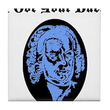 I Got Your Bach (LIGHT BLUE) Tile Coaster