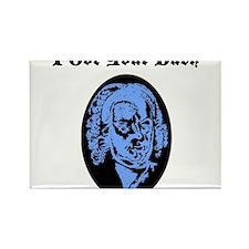 I Got Your Bach (LIGHT BLUE) Rectangle Magnet