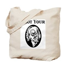 I Got Your Bach (White) Tote Bag
