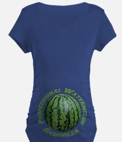 Professional Watermelon Smuggler Maternity T-Shi