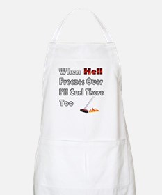 When Hell Freezes... BBQ Apron