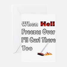 When Hell Freezes... Greeting Cards (Pk of 10)